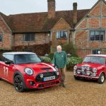 Paddy Hopkirk MBE takes delivery of new Limited Edition MINI, named in his honour