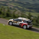 Rally Germany : Stage 2 Mud and damp