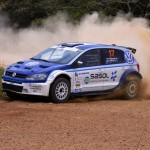 First rally, first podium for Volkswagen Sasolracing at Tour Natal