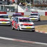 Engen Volkswagen Cup competitors blast through Scribante race day