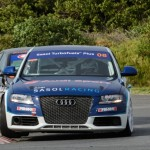 Flat-out action from Audi S4 quattro racers in East London