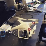 Drone Crashes Through Window, Hits Man's Head
