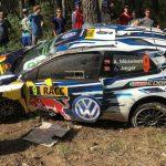 Catalunya: SS12/13: Mikkelsen rolls out of third