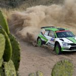 Saturday WRC 2 in Mexico: Tidemand heads a thriller
