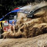 Ogier escapes injury after hitting tree in Finland test shunt