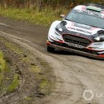 WRC Rally Wales GB: Evans extends lead