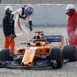 Alonso's McLaren-Renault Makes It 6 Laps Into the Pre-Season Test