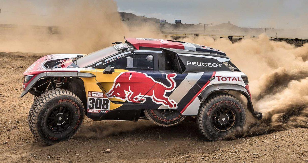 dakar rally  easy rally    owner   peugeot  dkr maxi rallystar
