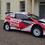 WRC 2018: Gaurav Gill tests newly revealed MRF Tyres M-Sport Ford Fiesta R5 ahead of Rally Italia Sardegna