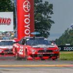 Logano wins Watkins Glen Xfinity race as Keselowski spins