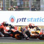 Marquez outduels Dovizioso for Thailand GP win