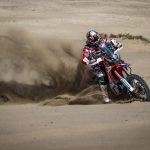 Monster Energy Honda Team at the Morocco Rally to close the season