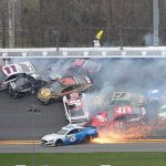 NASCAR driver says 'all hell broke loose' in monster crash