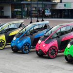 Toyota i-ROAD – The agility of a motorcycle, the comfort of a car