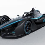 Mercedes unveils Formula E car at Geneva Motor Show