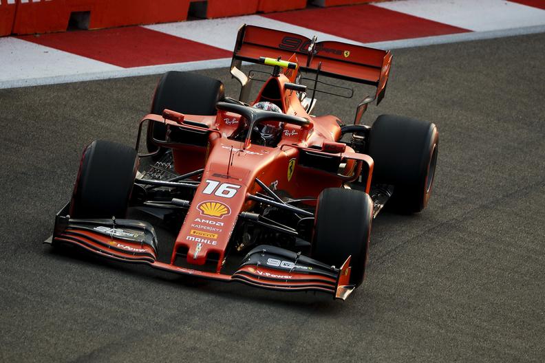 FERRARI F1 DRIVER CHARLES LECLERC SCORES HATTRICK WITH ...