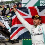 Hamilton on top of the world after sealing sixth title