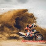 Motorcycles don't have it easy on stage 1 of the Dakar