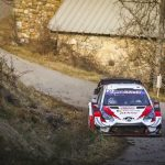 Tänak strikes at Evans and Toyota on Rally Sweden's SS3