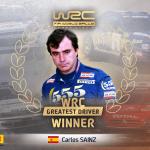 Carlos Sainz crowned The Greatest WRC Driver