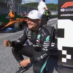 Bottas wins in Austria ahead of Hamilton after drivers take a knee on the grid