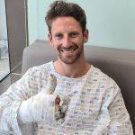 Grosjean hospital stay extended; targets Abu Dhabi return